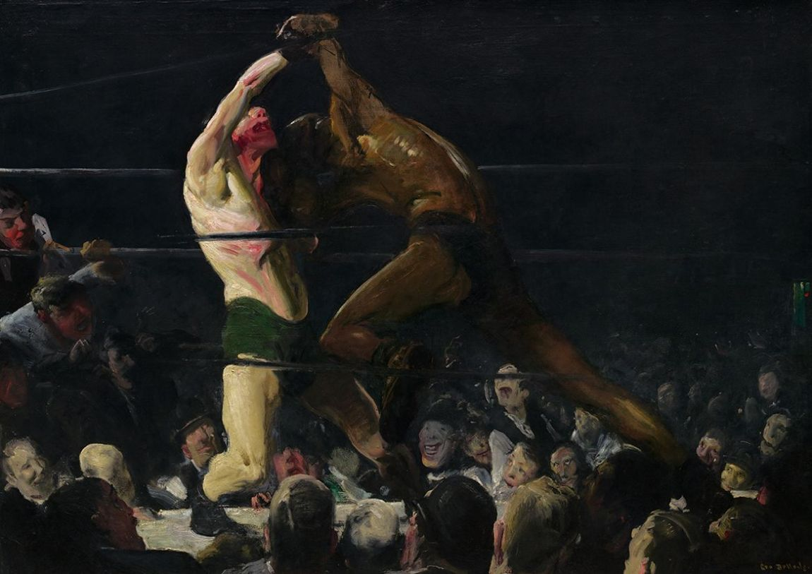 Bellows, George Wesley: Both Members of This Club. Fine Art Underground Boxing/Sports Print/Poster. Sizes: A4/A3/A2/A1 (004048)